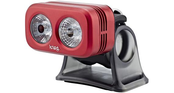 Knog Blinder Road 250 Scheinwerfer weiße LED ruby